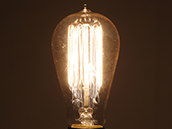 Bulbrite 60W 120V ST18 Nostalgic Decorative Bulb, E26 Base