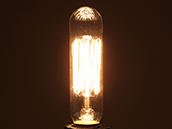 Bulbrite 25W 120V T6 Nostalgic Decorative Bulb, E12 Base
