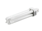 GE 26W 2 Pin G24d3 Cool White Double Twin Tube CFL Bulb