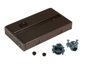 Hardwire Junction Box For American Lighting LED Complete 2  and LED 3-Complete Undercabinet Fixture - Dark Bronze