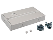 Hardwire Junction Box For LED Complete Undercabinet Fixture - White