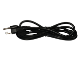 American Lighting 6' Power Cord for LED Complete 2 and LED 3-Complete Undercabinet Fixtures - Black