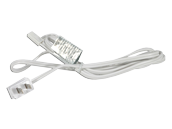 American Lighting 6' Power Cord for LED Complete 2 and LED 3-Complete Undercabinet Fixtures - White