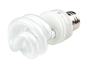 TCP 9W Warm White Spiral 120V CFL Bulb