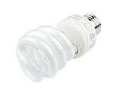 TCP 14W Cool White Spiral CFL Bulb, E26 Base