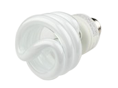 TCP 19W Warm White Spiral CFL Bulb, E26 Base