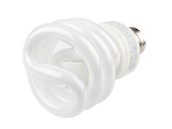 TCP 19W Cool White spiral CFL Bulb, E26 Base