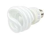 TCP 19W Bright White Spiral CFL Bulb, E26 Base