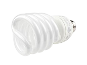 TCP 23W Bright White Spiral CFL Bulb, E26 Base