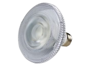 TCP Dimmable 10W 2700K 25° PAR30S LED Bulb, Wet Rated
