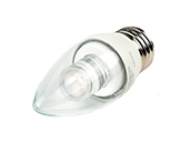 TCP Dimmable 5W 2700K Decorative LED Bulb, E26 Base