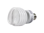 Bulbrite 23W 120V Bright White Spiral CFL Bulb, E26 Base