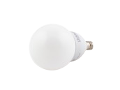 TCP Dimmable 4W 2700K G-16 Globe Frosted LED Bulb, E12 Base