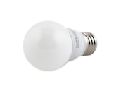 TCP Dimmable 4W 2700K G-16 Globe Frosted LED Bulb, E26 Base
