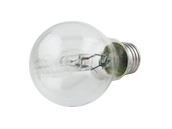 Philips 72W 120V A19 Clear Halogen Bulb (Pack of 2)