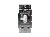 Lutron Ariadni 250W, 120V LED/CFL Slide Dimmer and Toggle On/Off Switch, White