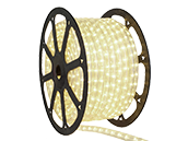 150' LED Rope Light Reel Warm White, 2800K