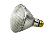 Bulbrite 60W 120V Halogen Long Neck PAR30 Wide Flood