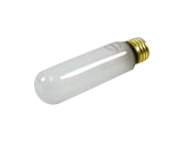 Bulbrite 40W 130V Frosted 40T10 Incandescent Bulb, E26 Base
