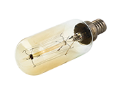 Satco 40W 120V T9 Vintage Decorative Bulb, E12 Base (Pack of 10)