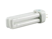 Halco 13W 4 Pin G24q1 Bright White Double Twin Tube CFL Bulb