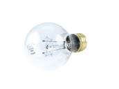 Halco 40W 130V A19 Clear Bulb Vibration Service E26 Base (Pack of 2)