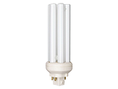 Philips 18W 4 Pin GX24q2 Cool White Long Triple Twin Tube CFL Bulb