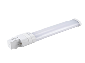 Green Creative 5.5W 2 Pin 2700K GX23 Hybrid LED Bulb, Rated For Enclosed Fixtures