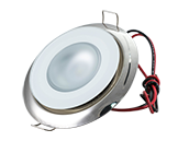 Mirage Marine Dimmable Polished Finish with RGBW LED Downlight