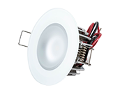 Mirage Marine Dimmable White Finish Warm White LED Downlight