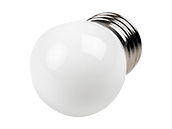 Satco 1.2 Watt White S11 LED Bulb