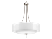 Progress Lighting Brushed Nickel Four-light Pendant
