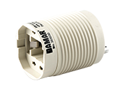 Self Ballasted 120 Volt GU24 Adapter for 13 Watt Plug In CFL