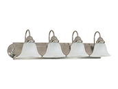 Nuvo Lighting Four-light Wall Mounted Vanity Fixture
