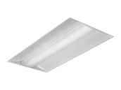 Day-Brite EvoGrid 55 Watt 2x4 ft Dimmable LED Recessed Troffer, 3500K