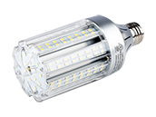 Light Efficient Design 70 Watt Equivalent, 18 Watt 5700K LED Corn Bulb, Ballast Bypass