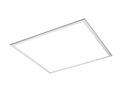 TCP Dimmable 36 Watt 2x2 ft 3500K Flat Panel LED Fixture