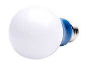 Satco Non-Dimmable 2W Blue A19 LED Bulb, Enclosed Fixture Rated
