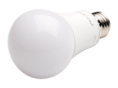 TCP Dimmable 9.5 Watt 3000K A19 LED Bulb, Rated For Wet Locations and Enclosed Fixtures