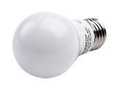 Satco Dimmable 5.5W 3000K A15 LED Bulb, Enclosed Fixture Rated