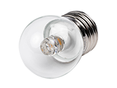 Satco 1.2 Watt Clear S11 LED Bulb