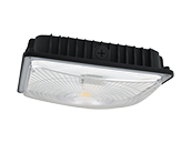 NaturaLED Dimmable 28 Watt 5000K Slim Canopy LED Fixture With Daylight and Motion Sensing