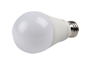 TCP Dimmable 9W 4100K A19 LED Bulb, Enclosed Fixture Rated