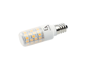 EmeryAllen Dimmable 4.5W 120V 3000K T3 LED Bulb, E12 Base, Enclosed Fixture Rated, JA8 Compliant