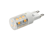 EmeryAllen Dimmable 3W 120V 3000K T3 LED Bulb, G9 Base, Enclosed Fixture Rated