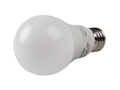 Satco Dimmable 9.8W 3500K A19 LED Bulb, Enclosed Rated
