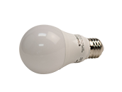 Satco Dimmable 9.5W 3000K A19 LED Bulb, Enclosed Fixture Rated