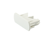 Lightolier Lytespan Radius Cover for Dead End, Matte White