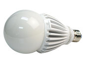 Green Creative Non-Dimmable 25W 120-277V 3000K A-23 LED Bulb, Enclosed Rated, E26 Base