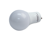 Satco Dimmable 11W 2700K A19 LED Bulb, GU24 Base, Enclosed Fixture Rated